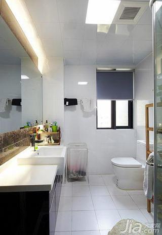 简约风格15-20万110平米卫生间吊顶洗手台效果图