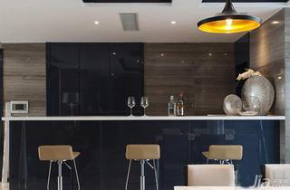 现代简约风格20万以上140平米以上吧台吧台椅图片