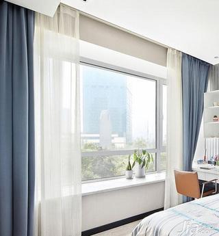现代简约风格小清新20万以上140平米以上飘窗窗帘效果图