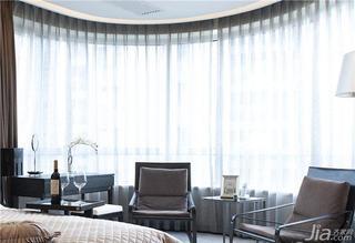现代简约风格20万以上140平米以上阳台窗帘图片