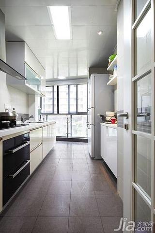 简约风格三居室130平米厨房吊顶橱柜效果图