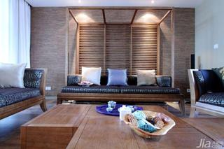 中式风格三居室140平米以上客厅沙发效果图