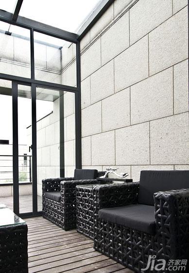 新古典风格跃层140平米以上阳光房效果图