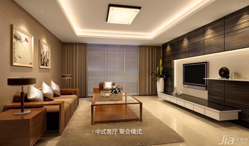 欧普照明客厅灯具效果图图片