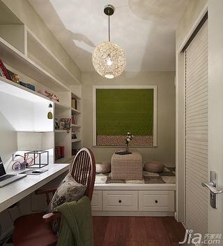 美式风格三居室130平米书房榻榻米订做