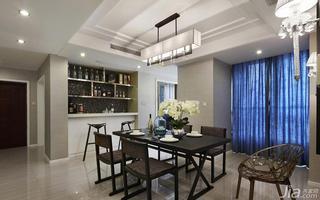 现代简约风格四房140平米以上餐厅灯具效果图