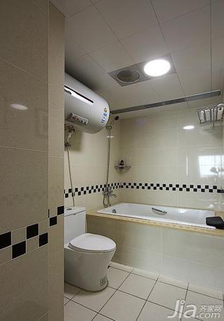 现代简约风格20万以上140平米以上主卫吊顶浴缸效果图