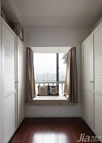 现代简约风格20万以上140平米以上衣帽间飘窗地板图片