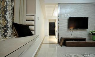 新古典风格三居室120平米电视背景墙设计