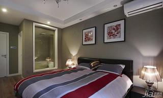 新古典风格三居室120平米卧室儿童灯图片