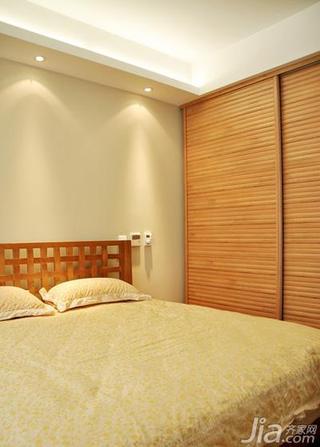 现代简约风格公寓140平米以上卧室衣柜设计图