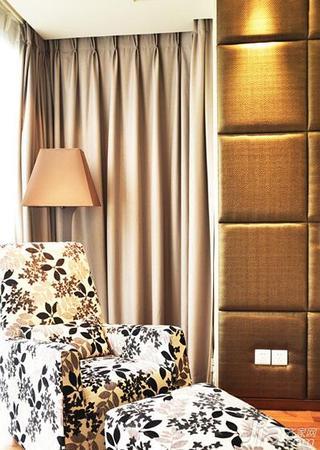 现代简约风格公寓140平米以上卧室单人沙发图片