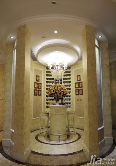 欧式风格别墅140平米以上玄关吊顶装修图片