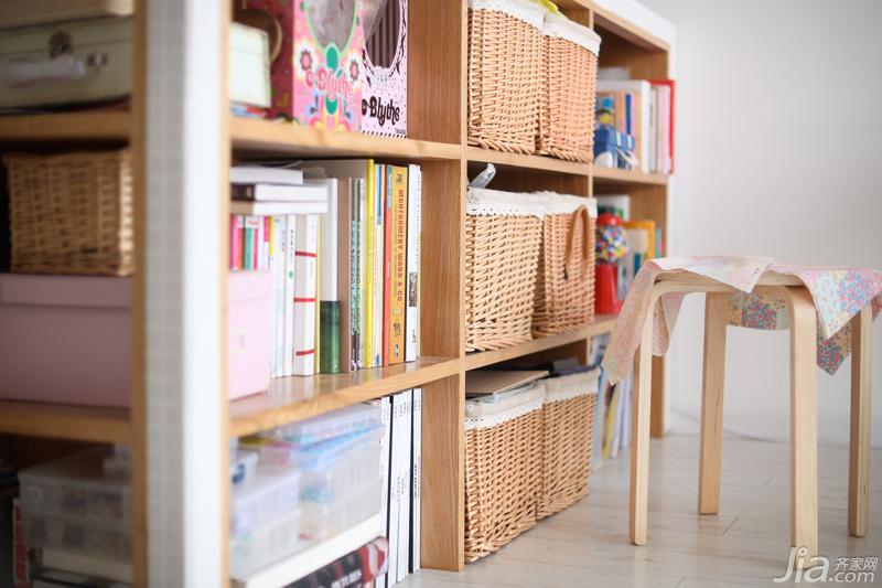 北欧风格一居室小清新90平米装修效果图