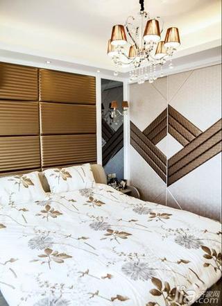 混搭风格三居室豪华型140平米以上卧室卧室背景墙衣柜效果图