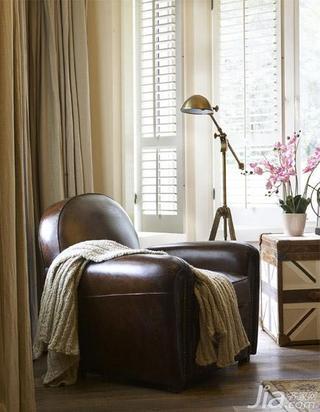 田园风格别墅豪华型单人沙发图片