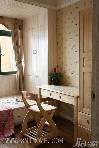 三米设计田园风格三居室效果图