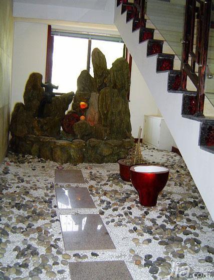 中式风格别墅140平米以上楼梯装修效果图