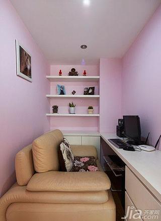 简约风格二居室100平米书房设计