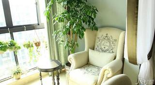 欧式风格二居室20万以上阳台单人沙发图片