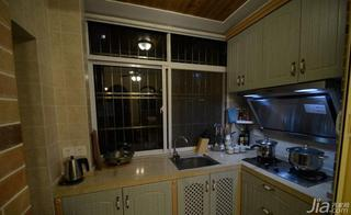 美式风格小户型60平米厨房设计图