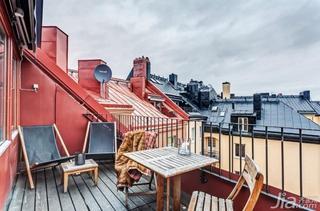 北欧风格大户型阁楼装修效果图