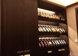 新古典风格三居室富裕型酒柜效果图