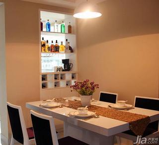 现代简约风格四房140平米以上餐厅餐边柜效果图