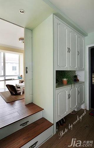 美式风格小户型60平米玄关玄关柜效果图