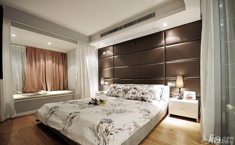 新中式风格三居室富裕型卧室飘窗装修图片图片