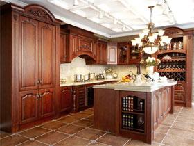 欧式风格实木系列E0级豪华型橱柜