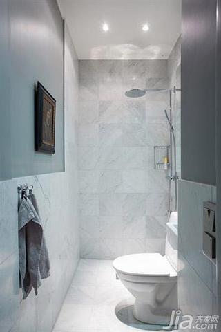 北欧风格大户型140平米以上卫生间装潢