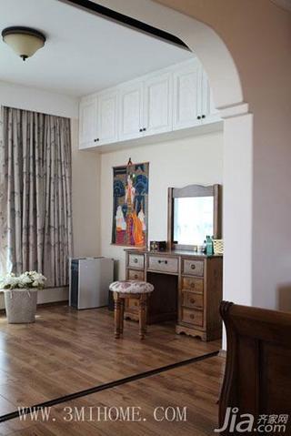三米设计东南亚风格复式家装图