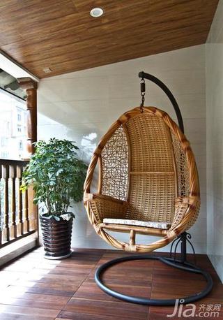 新古典风格二居室100平米阳台吊顶设计图纸
