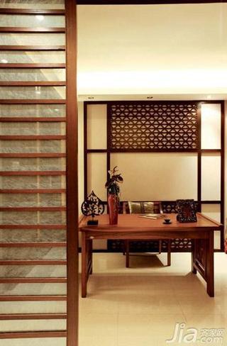 东南亚风格大户型豪华型书房装潢