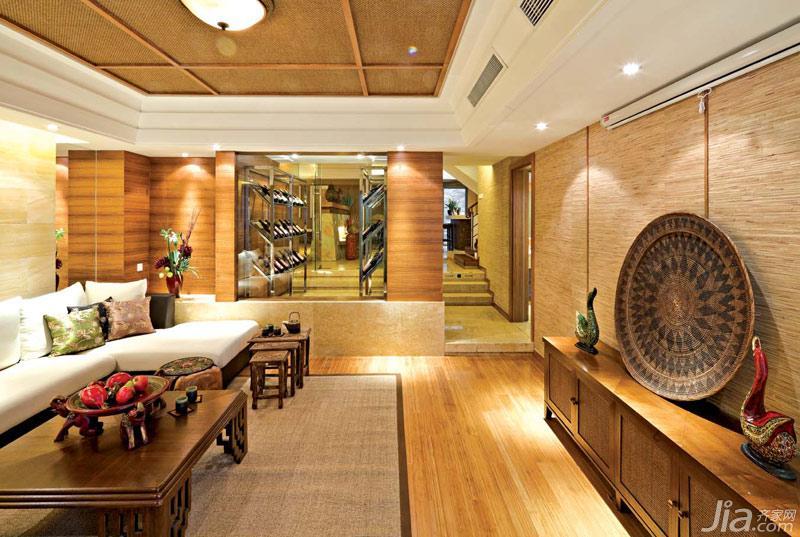 东南亚风格别墅豪华型效果图