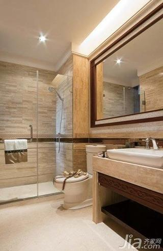 东南亚风格别墅豪华型卫生间装潢