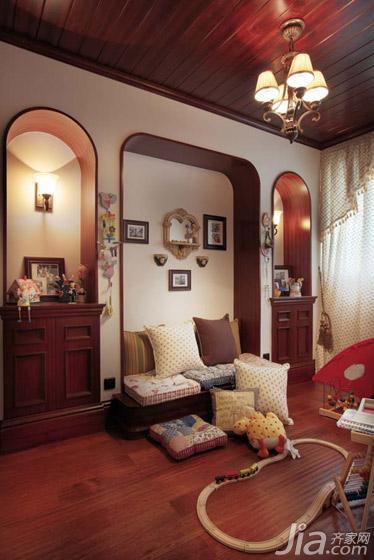 地中海风格别墅富裕型效果图