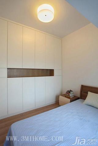 三米设计北欧风格20万以上80平米卧室衣柜装潢