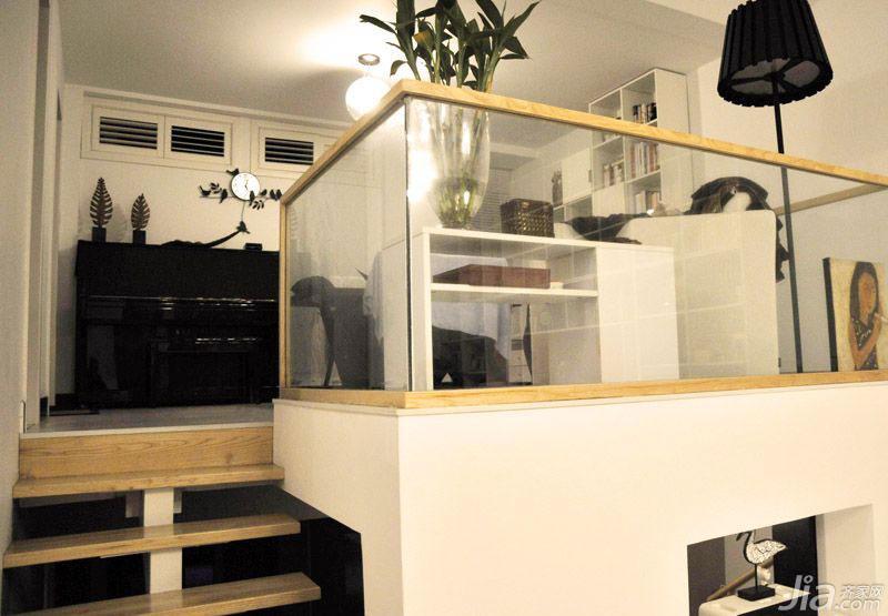 loft风格100平米阁楼设计