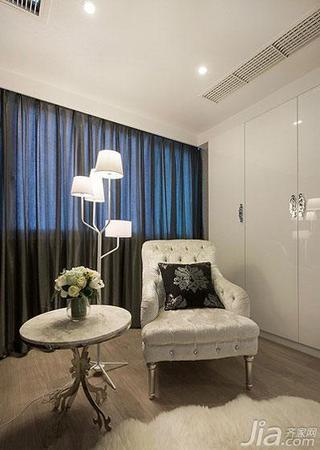 新古典风格复式豪华型阳台窗帘效果图