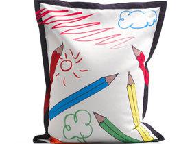 可爱涂鸦儿童懒人沙发