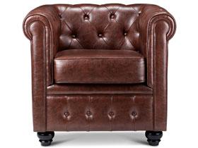 奢華質感切斯特菲爾德沙發椅