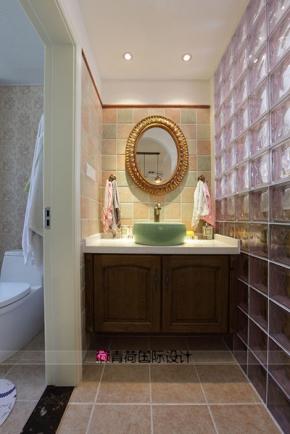 装修140平米以上装修美式风格 意想不到的设计 300平米新中式混搭别墅图片
