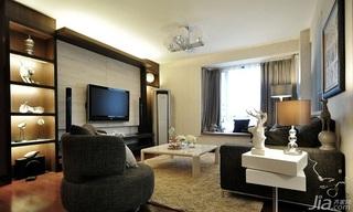 欧式风格10-15万140平米以上客厅电视背景墙电视柜效果图