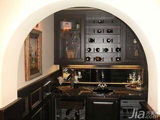 欧式风格别墅富裕型酒柜效果图