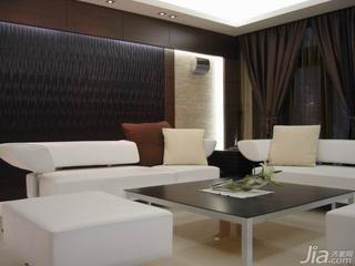 简约风格复式富裕型120平米客厅沙发新房设计图纸