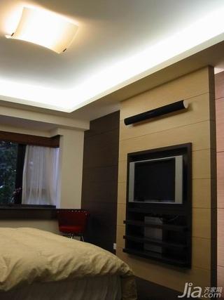 简约风格复式富裕型120平米电视背景墙新房设计图