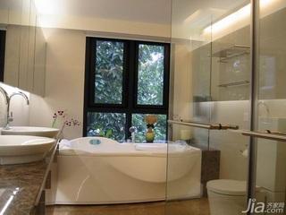 简约风格复式富裕型120平米主卫新房家装图