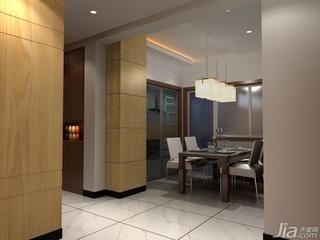 简约风格二居室3万以下60平米餐厅餐桌三口之家家装图片